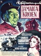 Jamaica Inn - Danish Movie Poster (xs thumbnail)