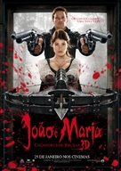 Hansel & Gretel: Witch Hunters - Brazilian Movie Poster (xs thumbnail)