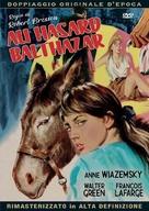 Au hasard Balthazar - Italian DVD movie cover (xs thumbnail)