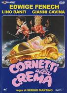Cornetti alla crema - Italian DVD movie cover (xs thumbnail)
