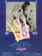 Women in Love - French Movie Poster (xs thumbnail)
