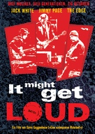 It Might Get Loud - German poster (xs thumbnail)