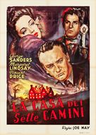 The House of the Seven Gables - Italian Re-release poster (xs thumbnail)