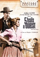 Five Guns West - French Movie Cover (xs thumbnail)