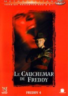 A Nightmare on Elm Street 4: The Dream Master - French DVD movie cover (xs thumbnail)