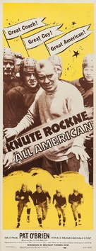 Knute Rockne All American - Re-release poster (xs thumbnail)