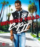 Beverly Hills Cop 2 - Danish Blu-Ray movie cover (xs thumbnail)