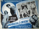 The Glass Wall - Mexican Movie Poster (xs thumbnail)