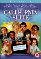 California Suite - British DVD movie cover (xs thumbnail)