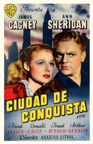 City for Conquest - Spanish Movie Poster (xs thumbnail)