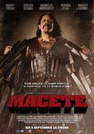 Machete - Romanian Movie Poster (xs thumbnail)