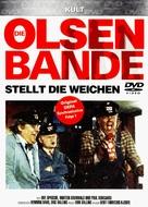 Olsen-banden på sporet - German DVD cover (xs thumbnail)