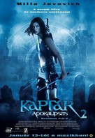 Resident Evil: Apocalypse - Hungarian Movie Poster (xs thumbnail)