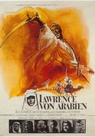Lawrence of Arabia - German Movie Poster (xs thumbnail)