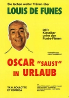 Taxi, Roulotte et Corrida - German Movie Poster (xs thumbnail)