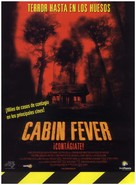 Cabin Fever - Spanish Movie Poster (xs thumbnail)