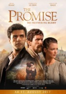 The Promise - German Movie Poster (xs thumbnail)