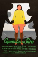 Españolas en París - Spanish Movie Poster (xs thumbnail)