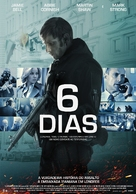 6 Days - Portuguese Movie Poster (xs thumbnail)