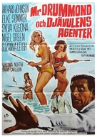 Deadlier Than the Male - Swedish Movie Poster (xs thumbnail)