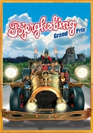 Flåklypa Grand Prix - Danish Movie Poster (xs thumbnail)