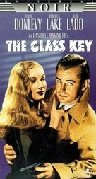 The Glass Key - VHS cover (xs thumbnail)