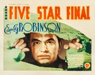 Five Star Final - Movie Poster (xs thumbnail)
