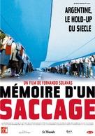 Memoria del saqueo - French Movie Poster (xs thumbnail)