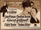 Lucy Gallant - British Movie Poster (xs thumbnail)