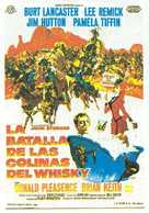 The Hallelujah Trail - Spanish Movie Poster (xs thumbnail)