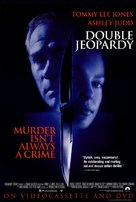 Double Jeopardy - Video release poster (xs thumbnail)