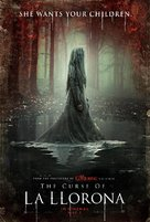 The Curse of La Llorona - British Movie Poster (xs thumbnail)