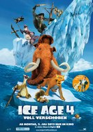 Ice Age: Continental Drift - German Movie Poster (xs thumbnail)