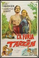 Tarzan's Savage Fury - Argentinian Movie Poster (xs thumbnail)