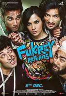 Fukrey Returns - South African Movie Poster (xs thumbnail)