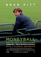 Moneyball - Romanian Movie Poster (xs thumbnail)