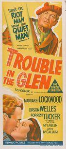 Trouble in the Glen - Australian Movie Poster (xs thumbnail)