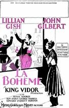 La bohème - Movie Poster (xs thumbnail)