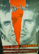 Lethal Weapon - Hungarian Movie Poster (xs thumbnail)