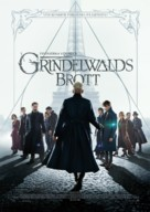 Fantastic Beasts: The Crimes of Grindelwald - Swedish Movie Poster (xs thumbnail)