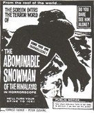 The Abominable Snowman - poster (xs thumbnail)