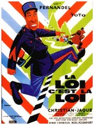 La legge è legge - French Movie Poster (xs thumbnail)
