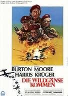 The Wild Geese - German Movie Poster (xs thumbnail)