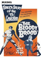 The Bloody Brood - DVD movie cover (xs thumbnail)