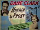 Murder by Proxy - British Movie Poster (xs thumbnail)
