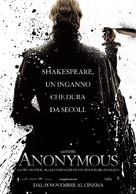 Anonymous - Italian Movie Poster (xs thumbnail)