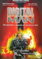 Digital Man - Brazilian DVD cover (xs thumbnail)