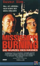 Mississippi Burning - German Movie Cover (xs thumbnail)