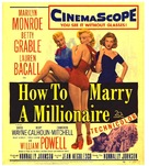 How to Marry a Millionaire - Movie Poster (xs thumbnail)