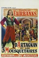 The Iron Mask - Belgian Movie Poster (xs thumbnail)